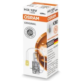 Fernscheinwerfer Glühlampe VW PASSAT Variant (3B6) 1.9 TDI 130 PS ab 11.2000 OSRAM Glühlampe, Fernscheinwerfer (64151) für