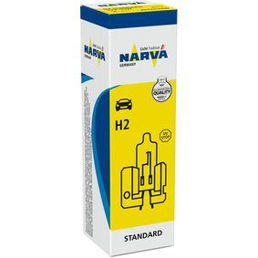 Bulb, spotlight H2, 55W, 12V 484203000 RENAULT 5, 4, SUPER 5