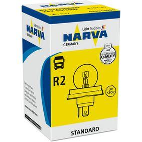 Bulb, spotlight R2 (Bilux), 55/50W, 24V 493213000