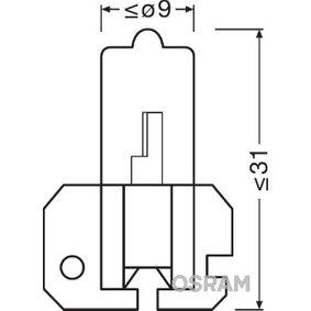 Крушка с нагреваема жичка, главни фарове H2, X511, 70ват, 24волт 64175