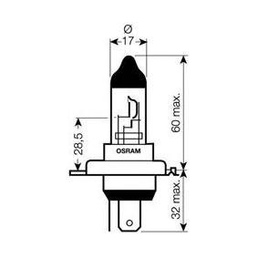Bulb, headlight HS1, PX43t, 35/35W, 12V 64185SVS