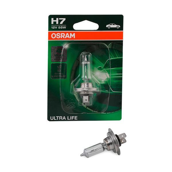 Glühlampe, Fernscheinwerfer 64210ULT-01B OSRAM H7 in Original Qualität