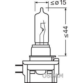 Bulb, spotlight H9B, 65W, 12V 64243 VAUXHALL Corsa Mk III (D) Hatchback (S07)