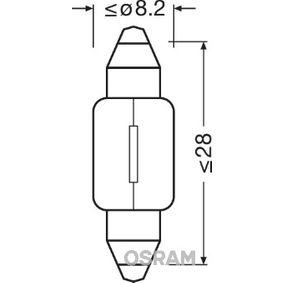 OSRAM ORIGINAL 6430 Glühlampe, Innenraumleuchte