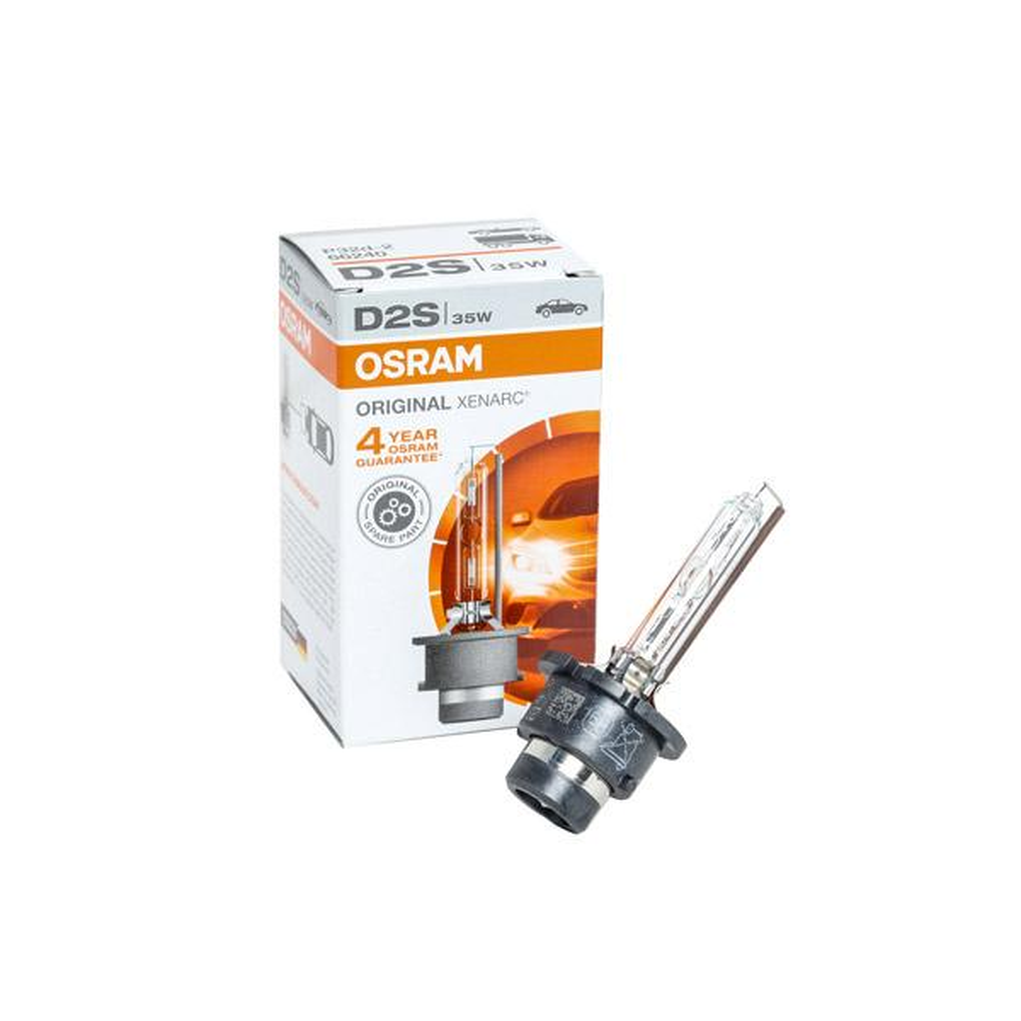 Lámpara, faro de carretera OSRAM D2S 4008321184573