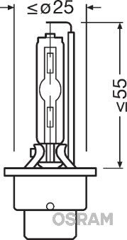 Article № D2S OSRAM prices