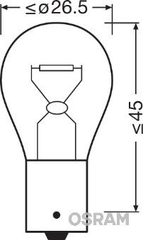Art. Nr. PY21W OSRAM prijzen
