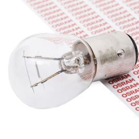 OSRAM Glühlampe, Blinkleuchte 7528 für AUDI 80 (8C, B4) 2.8 quattro ab Baujahr 09.1991, 174 PS