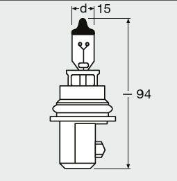 Bulb, headlight OSRAM 9004 expert knowledge