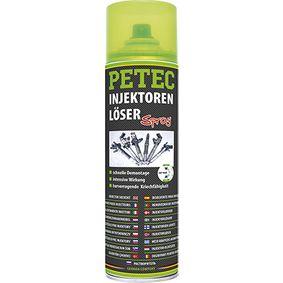 Rostumwandler PETEC 70160 für Auto (Sprühdose, kriechfähig, silikonfrei, transparent, Inhalt: 500ml)