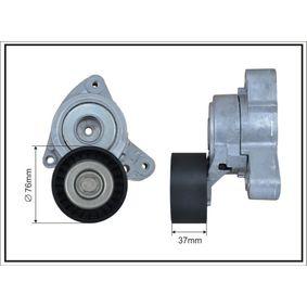 Tensioner Lever, v-ribbed belt Width: 37mm, Ø: 76mm with OEM Number 31170RAAA02