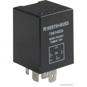 HERTH+BUSS ELPARTS Relais, Wisch-Wasch-Intervall 75614020 für AUDI 90 (89, 89Q, 8A, B3) 2.2 E quattro ab Baujahr 04.1987, 136 PS