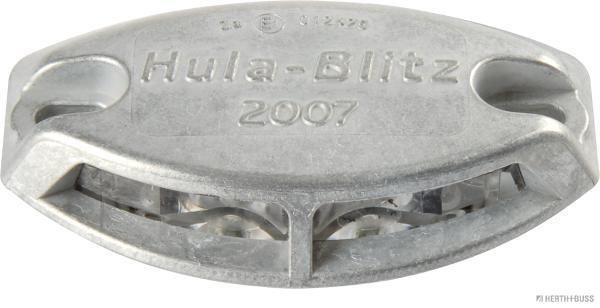 Waarschuwingslamp 80690019 HERTH+BUSS ELPARTS HulaBlitz2007 van originele kwaliteit