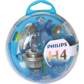 PHILIPS Glühlampe, Hauptscheinwerfer 55718EBKM für AUDI COUPE (89, 8B) 2.3 quattro ab Baujahr 05.1990, 134 PS