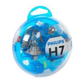 PHILIPS Glühlampe, Hauptscheinwerfer 55719EBKM für AUDI A4 (8E2, B6) 1.9 TDI ab Baujahr 11.2000, 130 PS