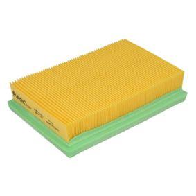 Luftfilter Länge: 178mm, Breite: 118mm, Höhe: 40mm, Länge: 178mm mit OEM-Nummer 17801 21060