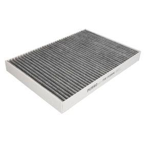 Filter, Innenraumluft Länge: 299mm, Breite: 205mm, Höhe: 30mm mit OEM-Nummer 4B0 819 439C