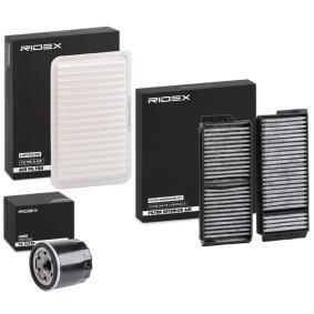 2003 Mazda 3 BK 1.6 Filter Set 4055F3391