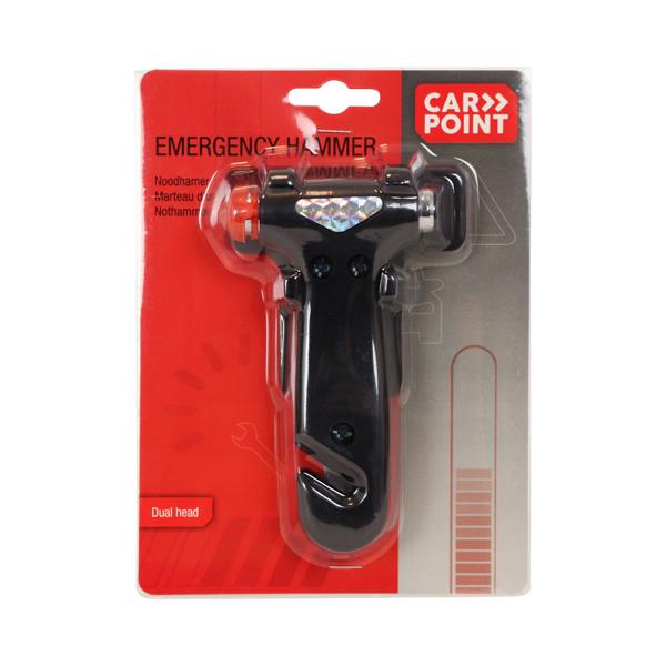 Emergency hammer CARPOINT 0110003 rating