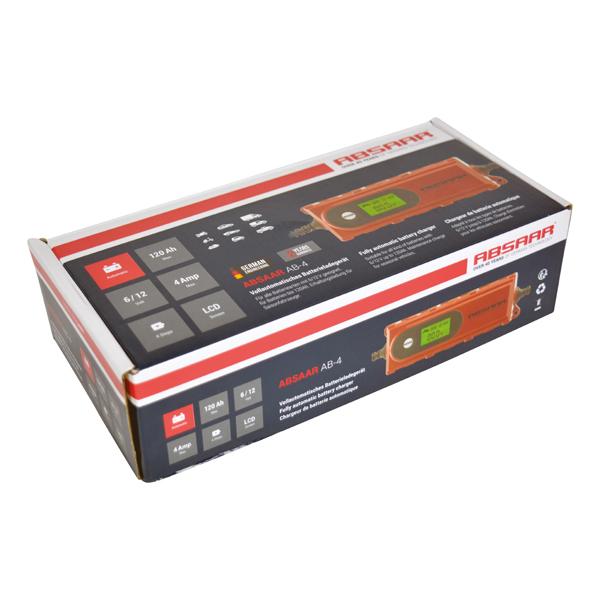 Batterieladegerät Absaar AB-4 Erfahrung