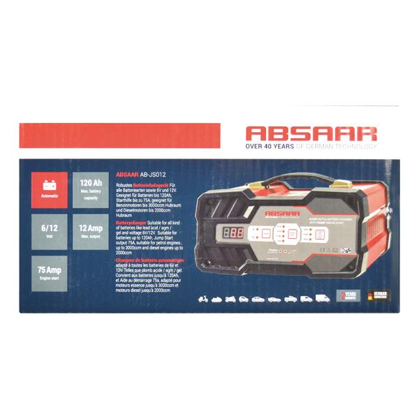 Car jump starter Absaar AB-JS012 4045365119031