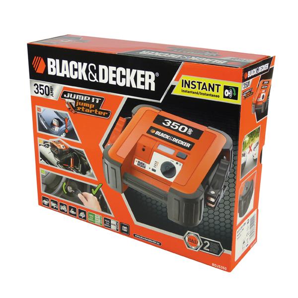 Car jump starter Black&Decker BDJS350 expert knowledge