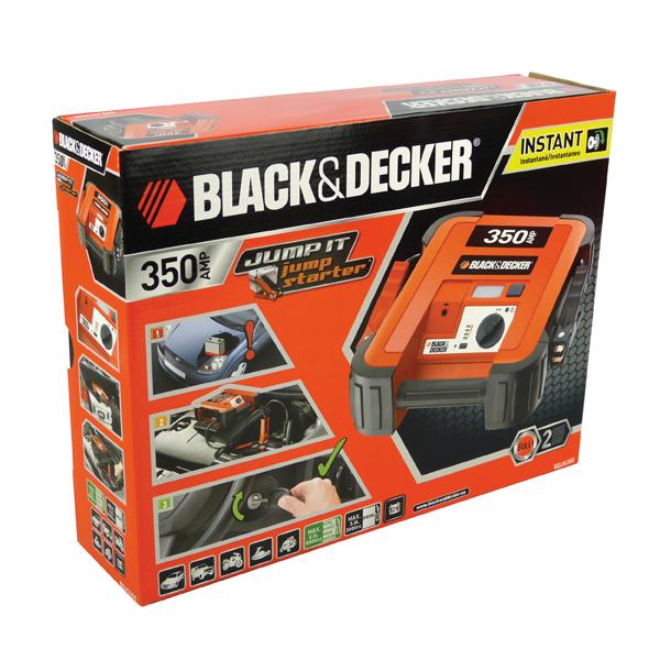 Car jump starter Black&Decker BDJS350 5035048210222