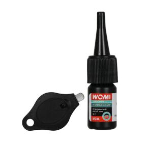 Adhesivo de uso general Womi W234 para auto (Peso: 3g, transparente)