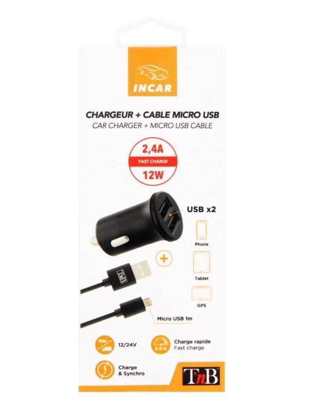 KFZ-Ladekabel für Handys TnB 8700 Bewertung