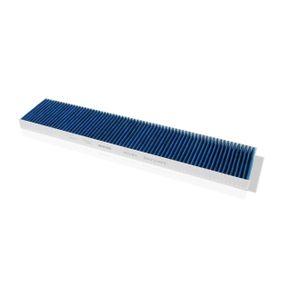 Filter, Innenraumluft Länge: 537mm, Breite: 110mm, Höhe: 25mm mit OEM-Nummer 1491 752