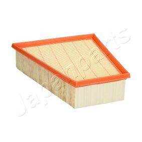 Luftfilter Länge: 213mm, Breite 1: 216mm, Breite 2: 127mm, Höhe: 70mm, Länge: 213mm mit OEM-Nummer 6Q0 129 6620