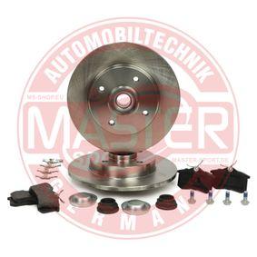 Jogo de travões, travões de disco Ø: 249mm, Espessura do disco de travão: 9mm com códigos OEM 1608681580