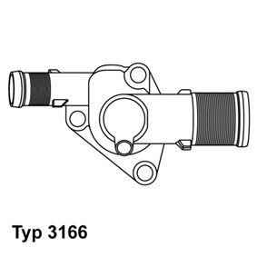 Thermostat, coolant Article № 3166.89D £ 140,00