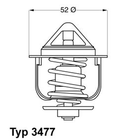 Thermostat, Kühlmittel Art. Nr. 3477.88D 120,00€