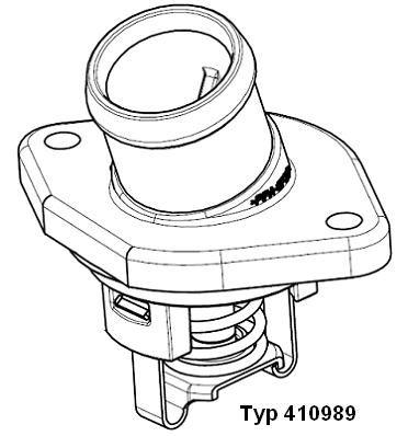 Radiator Thermostat 410989.80D WAHLER E2858855951A9 original quality