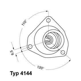 4144.92D WAHLER E2858853587B9 в оригиналното качество