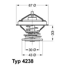 Thermostat, coolant Article № 4238.92D £ 140,00