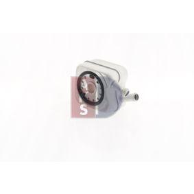 AKS DASIS Ölkühler, Motoröl 046000N für AUDI A3 (8P1) 1.9 TDI ab Baujahr 05.2003, 105 PS
