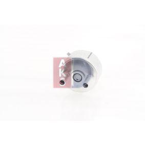 AKS DASIS Ölkühler, Motoröl 046018N für AUDI A3 (8P1) 1.9 TDI ab Baujahr 05.2003, 105 PS