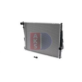 Radiateur, refroidissement du moteur Dimension du radiateur: 580x450x30 avec OEM numéro 17119071518