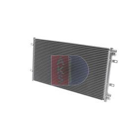 Condenser, air conditioning 082006N PUNTO (188) 1.2 16V 80 MY 2004