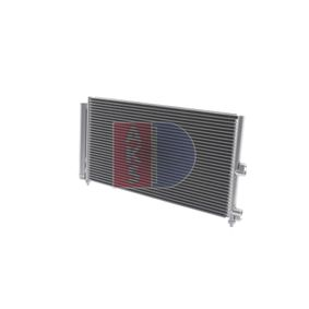 Condenser, air conditioning 082033N PUNTO (188) 1.2 16V 80 MY 2000