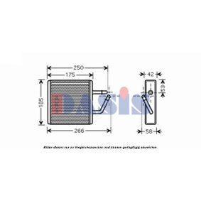 Wärmetauscher, Innenraumheizung 119002N 323 P V (BA) 1.3 16V Bj 1996