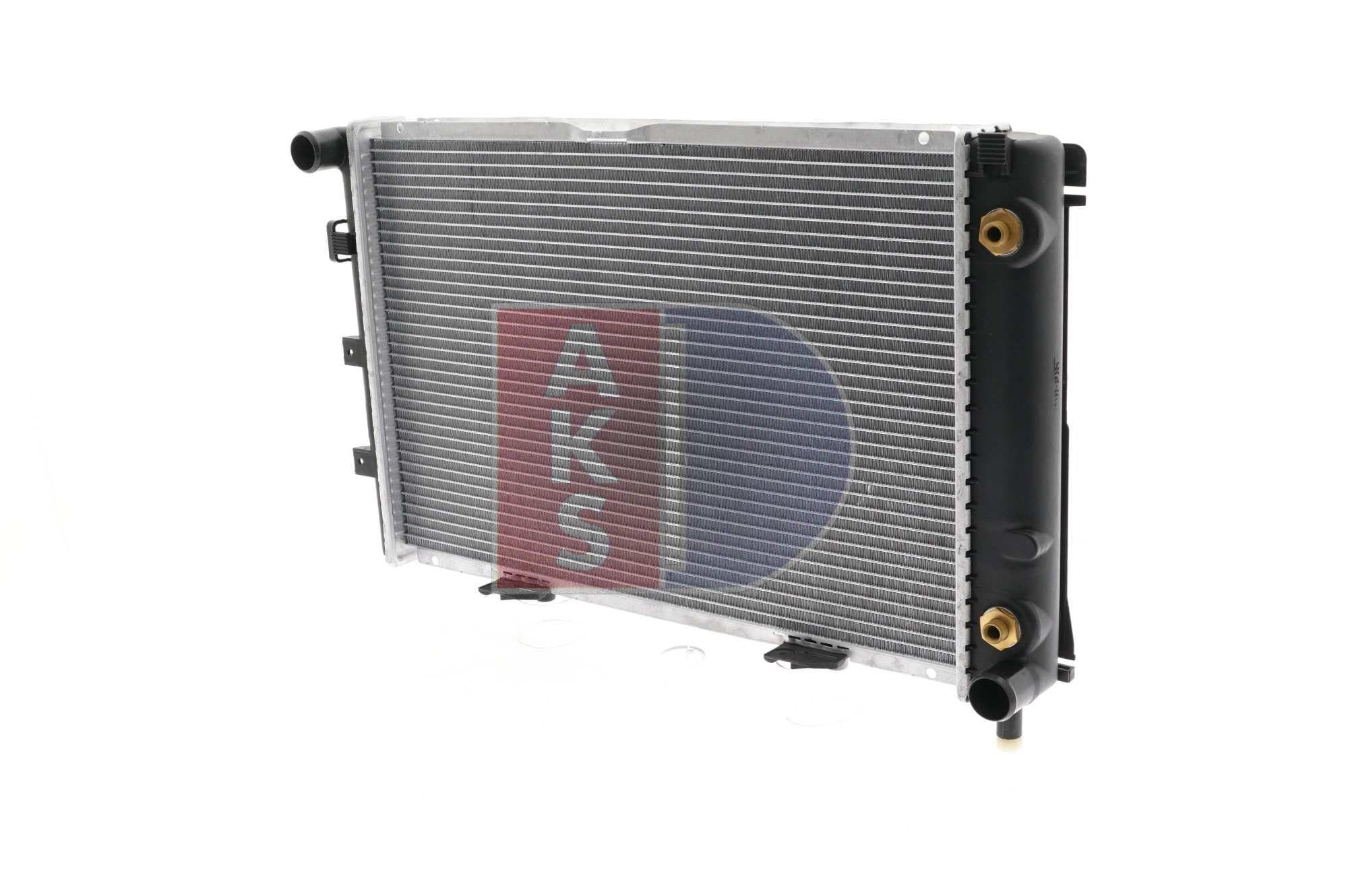 Nrf radiador agua radiador motor refrigeración motor radiador Easy fit 516580