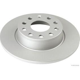 Bremsscheibe Bremsscheibendicke: 10mm, Lochanzahl: 9, Ø: 271,8mm mit OEM-Nummer 8P0098601P