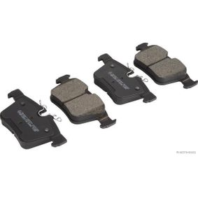 Brake Pad Set, disc brake Width: 122,5mm, Height 1: 56,3mm, Height 2: 59,8mm, Thickness: 16,1mm with OEM Number LR123595