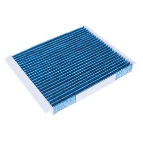 Filter, Innenraumluft Länge: 209mm, Breite: 277mm, Höhe: 32mm mit OEM-Nummer 1808 527