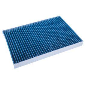 Filter, Innenraumluft Länge: 309mm, Breite: 213mm, Höhe: 30mm mit OEM-Nummer 04596501 AC