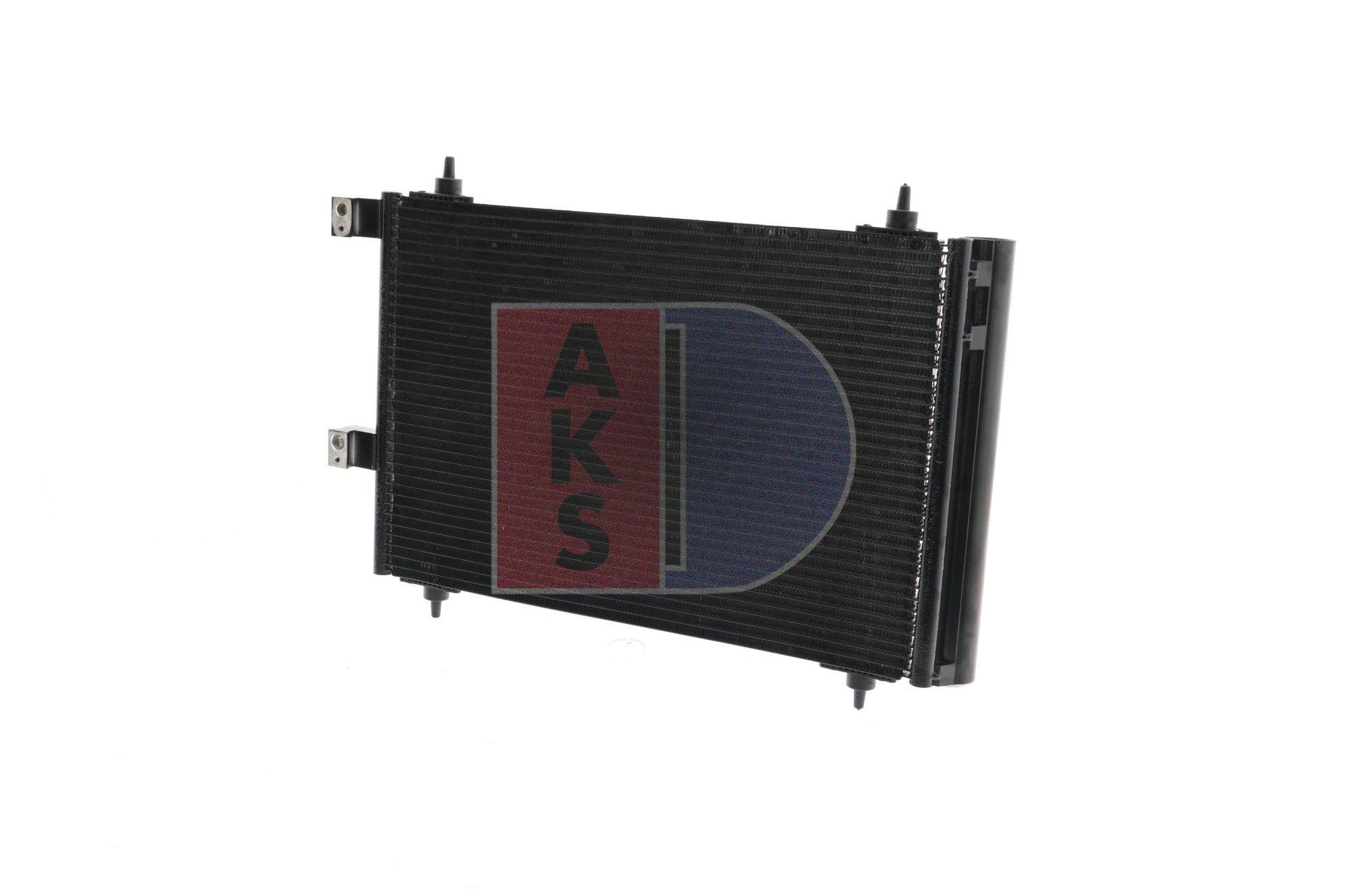 Klimakondensator 162004N AKS DASIS 162004N in Original Qualität