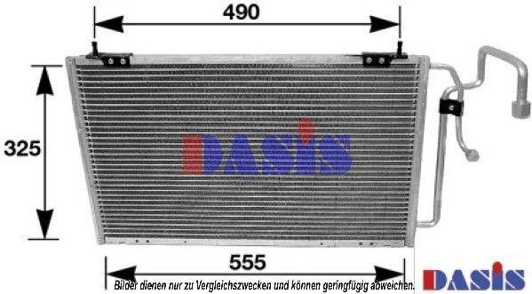 Klimakondensator 162210N AKS DASIS 162210N in Original Qualität